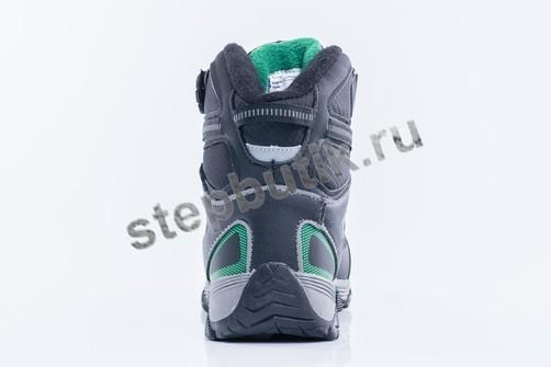 654961-41 Котофей Ботинки мембрана (32-37) чер-зел