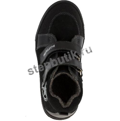 BL-142(10) Bottilini Ботинки байка (26-30) чёр