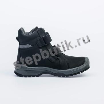 552113-33 Котофей Ботинки байка (30-35) чёр