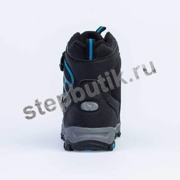 654943-45 Котофей Ботинки мембрана (32-37) чёр-син