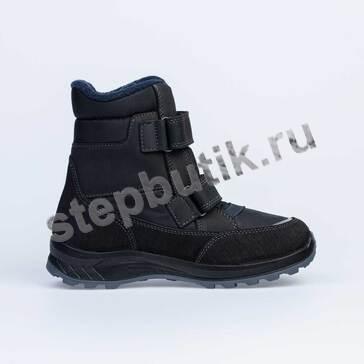 754953-41 Котофей Ботинки мембрана (36-40) чер