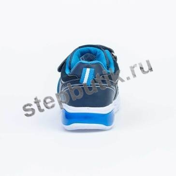344244-72 Котофей Кроссовки (25-30) син-гол