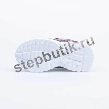 344250-71 Котофей Кроссовки (25-30) сер-роз