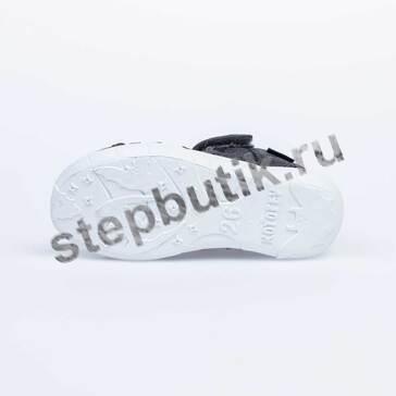 421058-13 Котофей Сандалии текстиль (26-33) серый