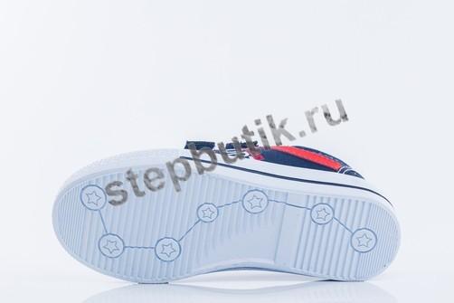 531078-11 Котофей Кеды (30-35) син-кра