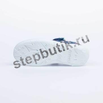 531149-11 Котофей Туфли текстиль (30-33) син-роз