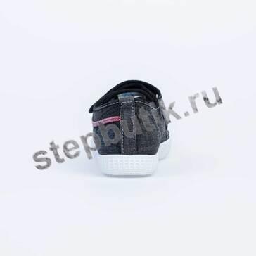 731028-12 Котофей Кеды (35-40) чёр
