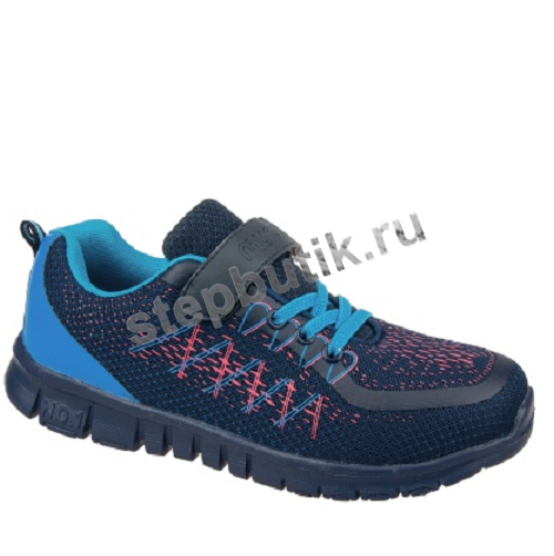 100031 MURSU Кроссовки (32-37) син-гол