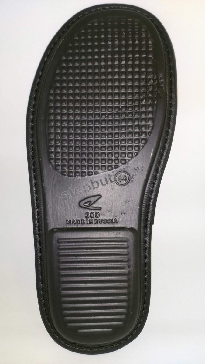 BTM70701-01-13 Тапки с закр.носком (41-45) сер