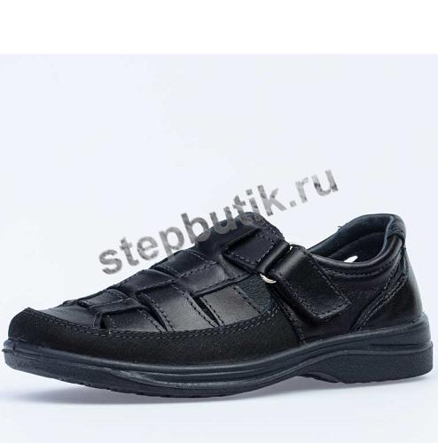 732067-26 Котофей Полуботинки (31-39) чер