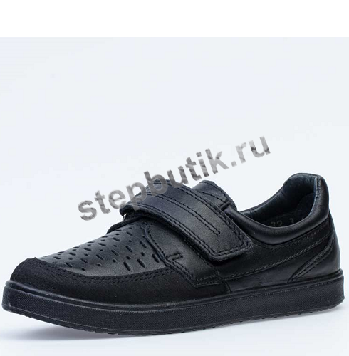 *632245-23 Котофей Полуботинки (32-35) чер