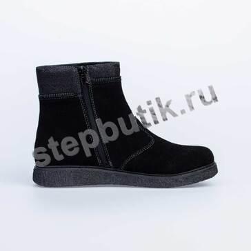 564084-31 Котофей Полусапожки байка (30-35) чёрн