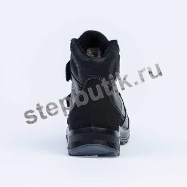 652154-42 Котофей Ботинки зима (32-35) чер