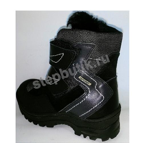 4028-64-8В_01 Minimen Ботинки мех (28-35) чёр
