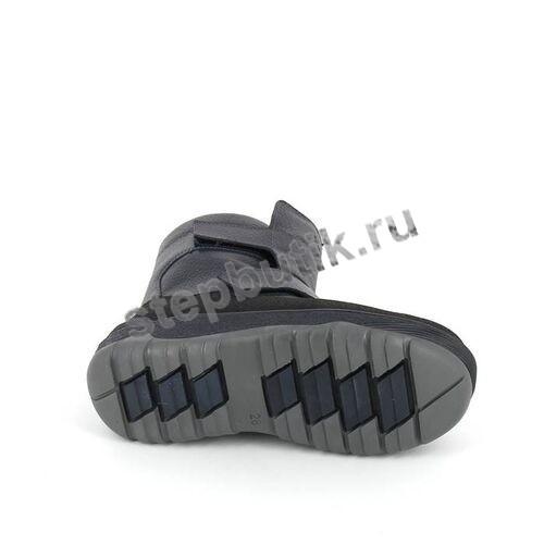 400-712 ТОТТО Ботинки мех (27-31) т.син