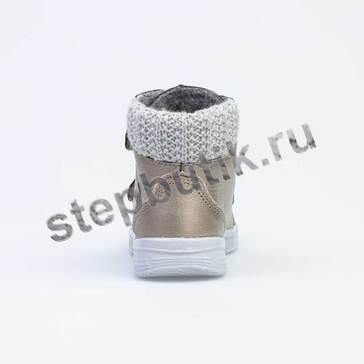 352286-31 Котофей Ботинки байка (25-29) бронза