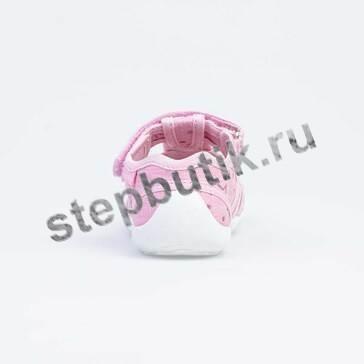 421066-12 Котофей Босоножки текстиль (26-33) роз