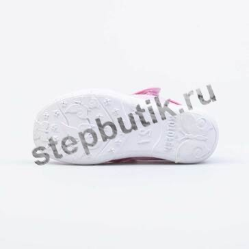 421072-11 Котофей Босоножки текстиль (27-31) роз