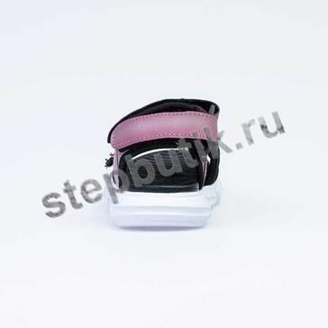 524060-11 Котофей Босоножки (30-35) роз-чёр