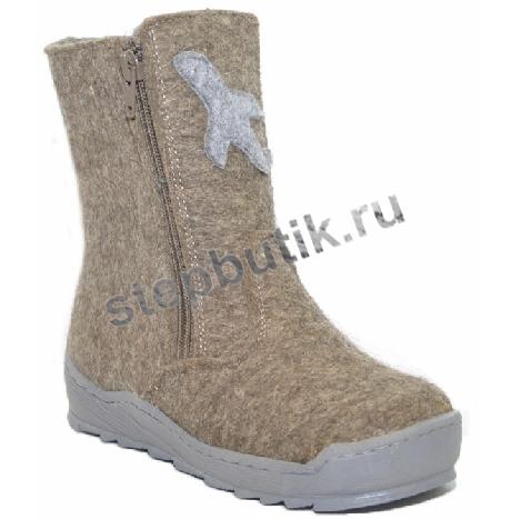 36271 ФОМА Валенки (26-31) серый+серый