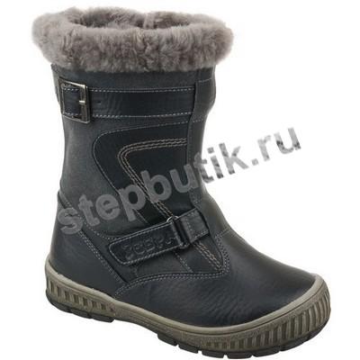 10006-1 Зебра Сапожки (27-32) черный