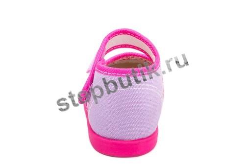 231090-71 Котофей Туфли текстиль (23-26) роз-сир