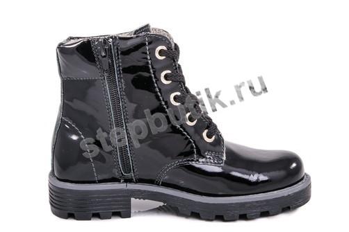 *552043-32 Котофей Ботинки байка (30-35) черный