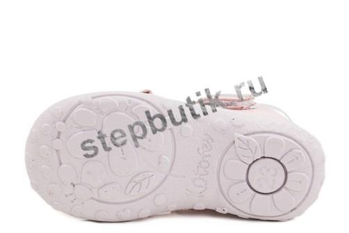 332028-22 Котофей Туфли (23-28) роз-срб