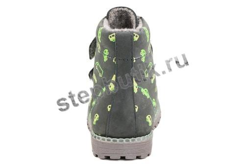 352080-31 Котофей Ботинки байка (25-29) сер