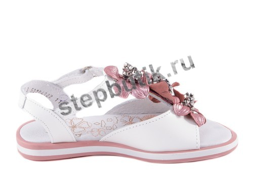 522041-22 Котофей Босоножки (28-35) бел-роз