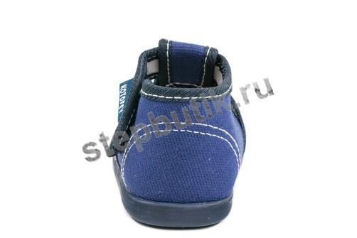 031036-71 Котофей Туфли текстиль (19-22) синий
