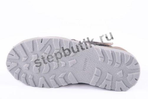 622034-22 Котофей Сандалии (32-37,5) серый