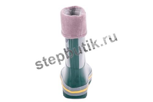 366069-12 Котофей Сапожки резиновые (24-29) сер