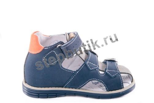 222069-22 Котофей Сандалии (23-26) син-сер