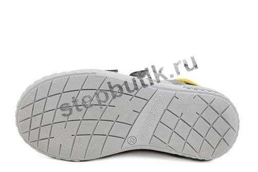 432116-21 Котофей Полуботинки (27-31) сер