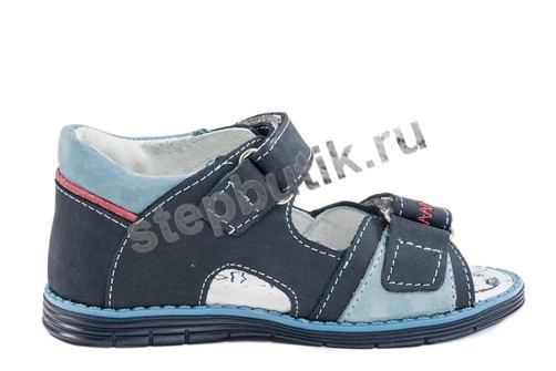 322028-21 Котофей Сандалии (25-29) синий
