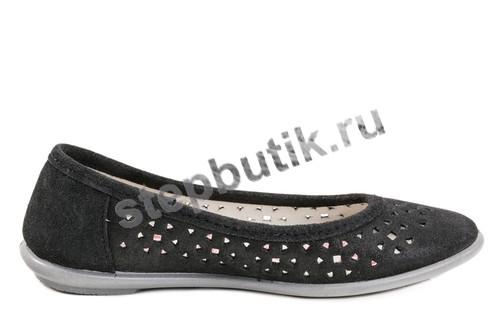 632172-22 Котофей Балетки (33-37,5) чер