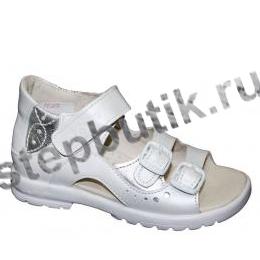 1027-9,022 ТОТТО Босоножки (27-34) бел-срб