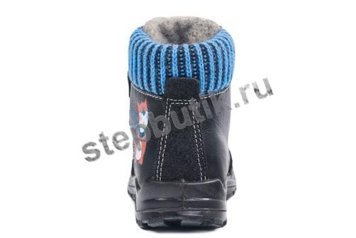 352110-31 Котофей Ботинки (25-27) чер-син