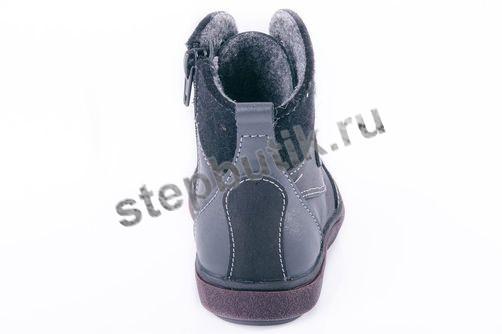 352048-32 Котофей Ботинки байка(24-27) чёр