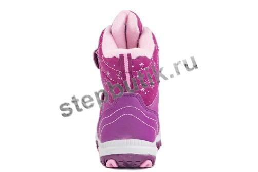 454968-42 Котофей Ботинки мембрана (26-30) бор-роз