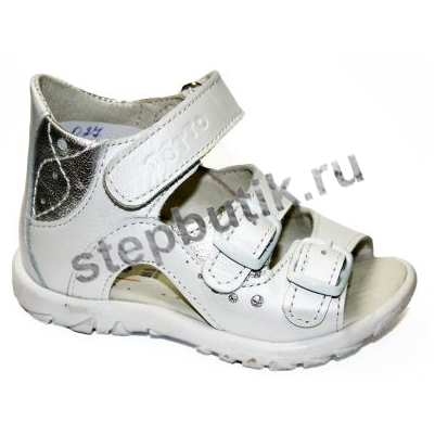 *027-9,022 ТОТТО Босоножки р.20 белый