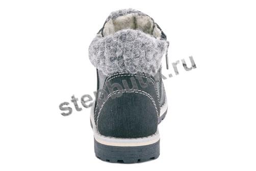 452075-33  Котофей Ботинки (27-31) черный