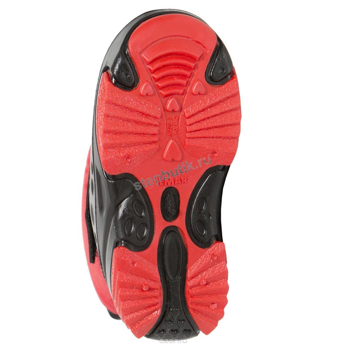 4010 SNOWMEN Сапожки (20-27) красный