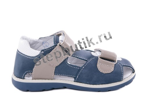 422050-21 Котофей Сандалии (27-31) син-сер