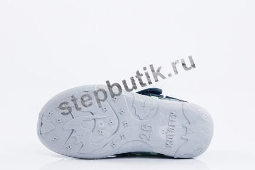 421006-18 Котофей Сандалии текстиль (26-31) син