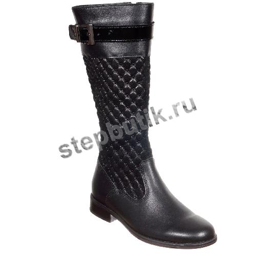 4-884 ЛЕЛЬ Сапоги (32-37) чёрный