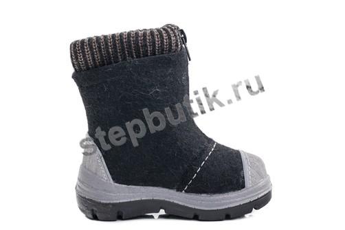 367102-42 Котофей Валенки (23-31) чер-сер