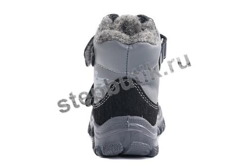 452088-42 Котофей Ботинки (26-30) серый