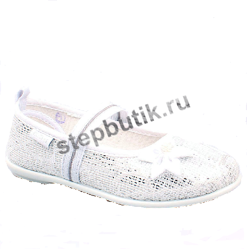 531042-71 Котофей Туфли текстиль (27-32) бел-срб